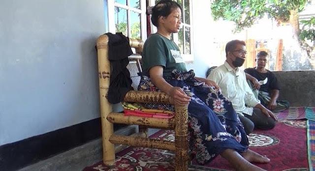 Marwiah TKW asal Lombok Timur yang disiksa majikannya di Arab Saudi