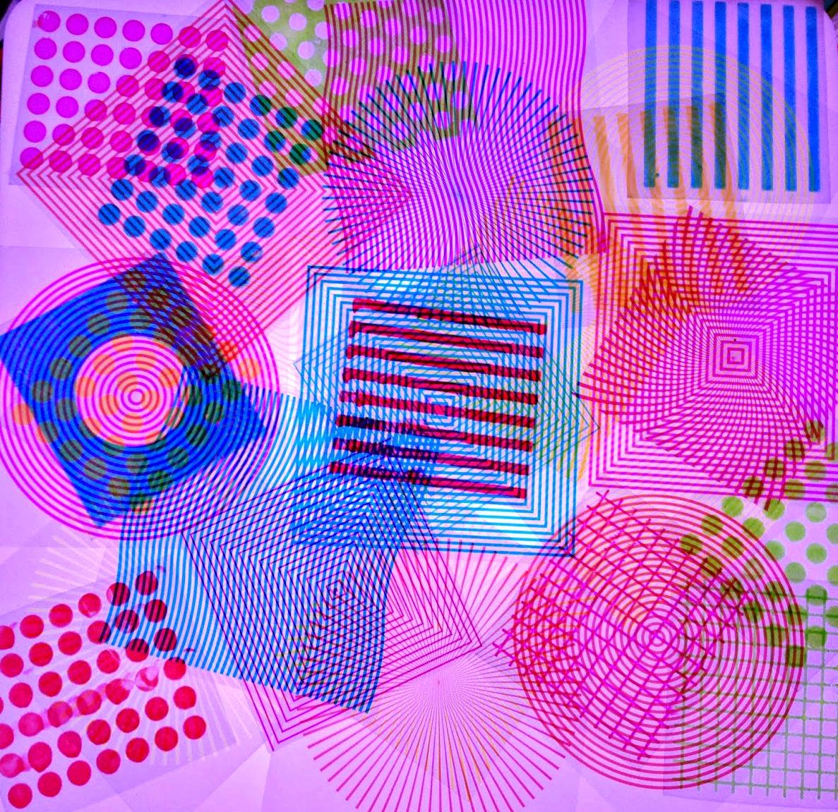 Diy Patterned And Optical Illusion Window Blocks Epic