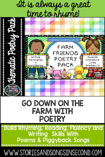 Spring means studying baby animals AND poetry in the primary classroom!  This post provides ideas and resources to help you do both!