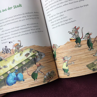 """""""Der Rattenfänger von Hameln - was wirklich geschah: Romeo, der Zaubertrommler"""" von Gerlis Zillgens, mit Bildern von Katja Jäger, erschienen im Südpol Verlag, Rezension auf Kinderbuchblog Familienbücherei"""