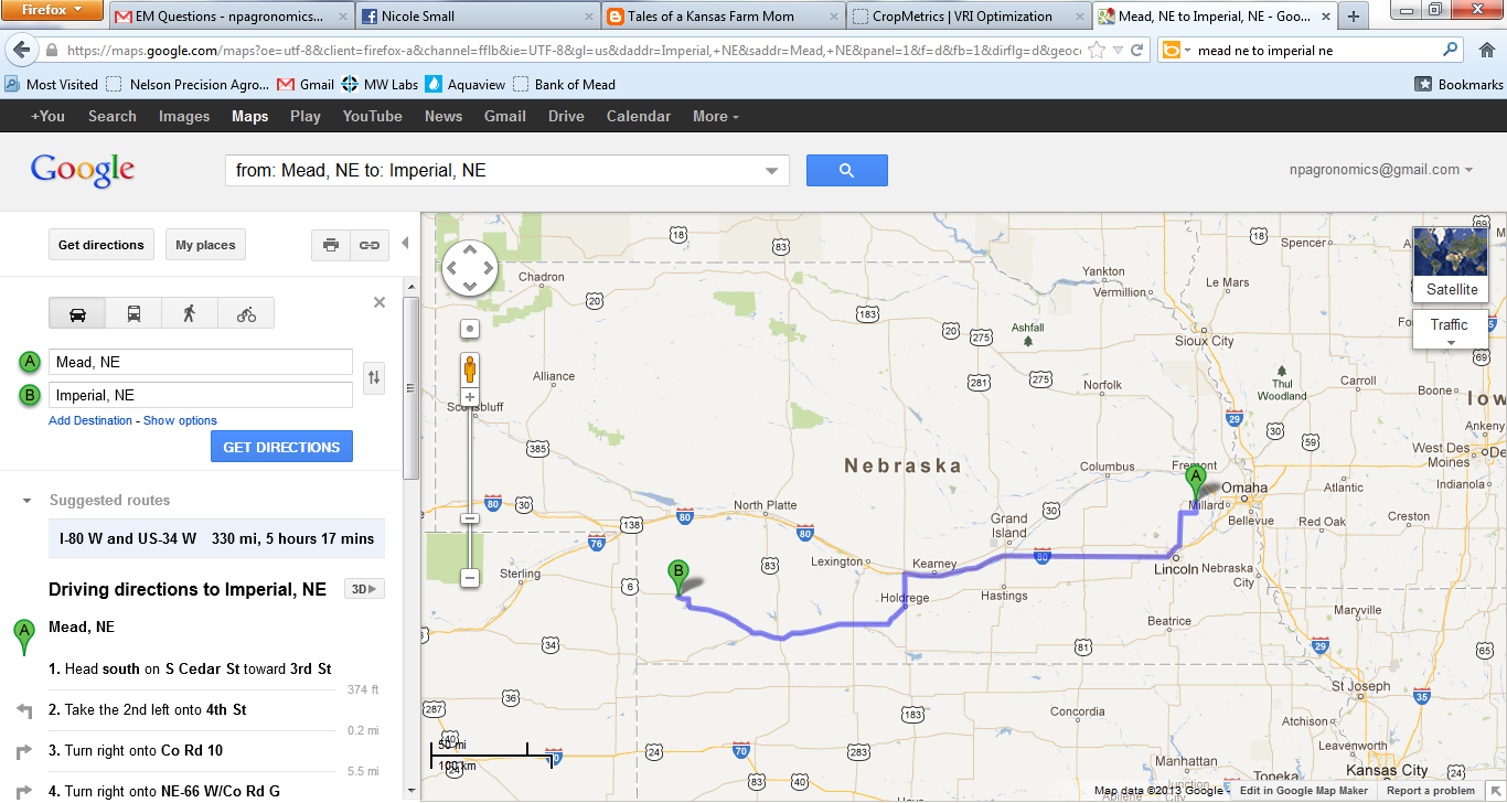 Imperial Nebraska Map.Tales Of A Kansas Farm Mom Flat Aggie Visits A Nebraska Farm