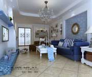 desain interior bernuansa biru