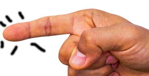 como sacar una astilla del dedo de la mano