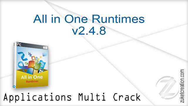 All in One Runtimes v2.4.8    |  382 MB
