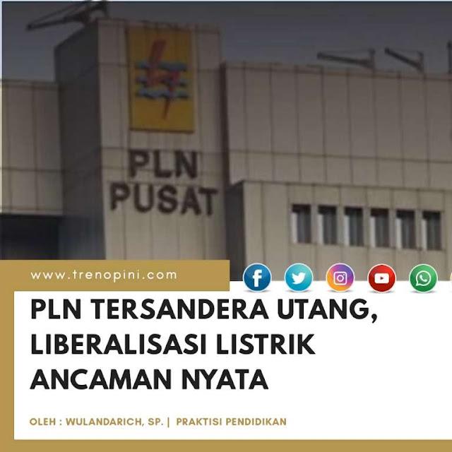 PLN Tersandera Utang, Liberalisasi Listrik Ancaman Nyata