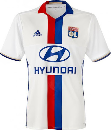 f10a2542 This is the new Olympique Lyonnais 2016-2017 home shirt.