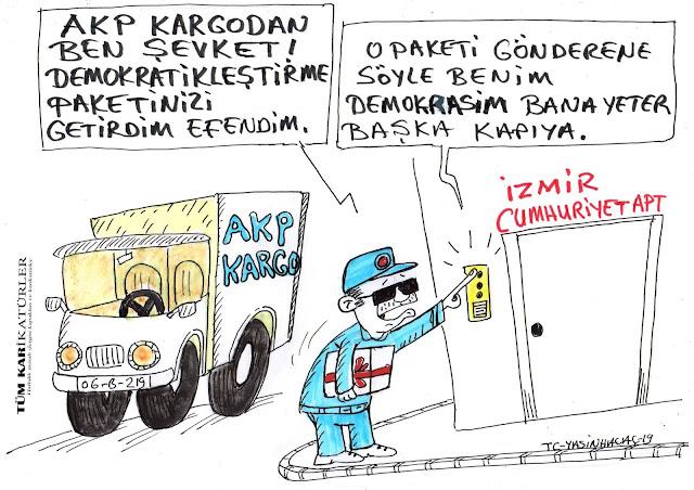 akp kargo karikatürü