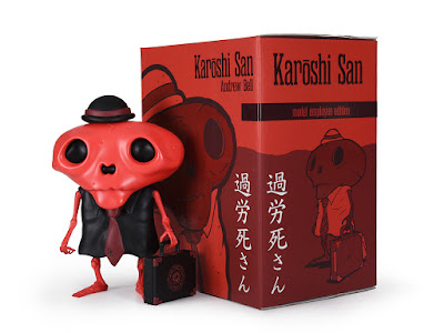 Five Points Festival 2019 Debut Karoshi San Model Employee Edition Vinyl Figure by Andrew Bell