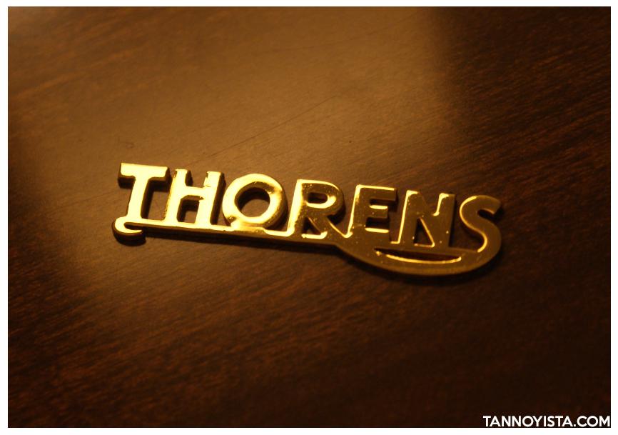 Thorens TD-124 MKII - Thorens badge