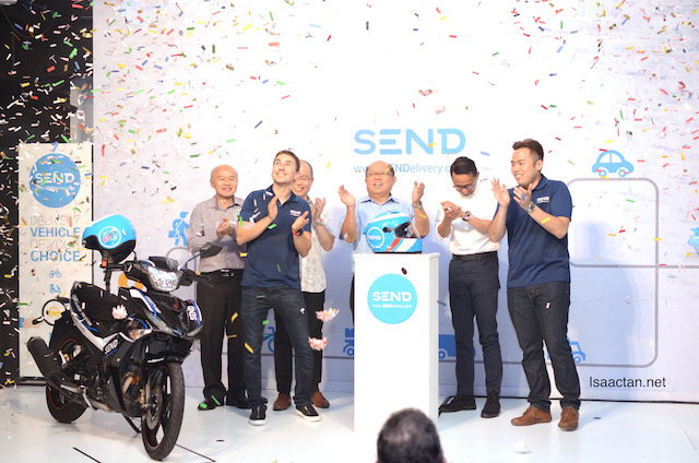 Jorge Lorenzo, 3 times MotoGP World Champion was at the official launch of SEND