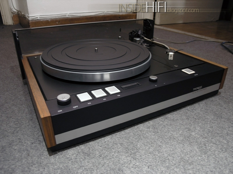 Inside Hi Fi Thorens Td 126 Mk Iii Outside Only