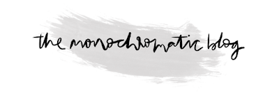 the monochromatic blog logo copyright