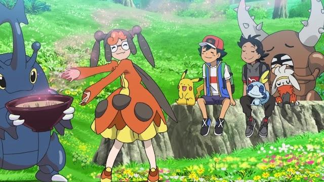 Pokemon Viajes capitulo 33 latino: ¡Intercambia, presta y roba!