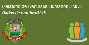 Recursos humanos SMDS - out/2018