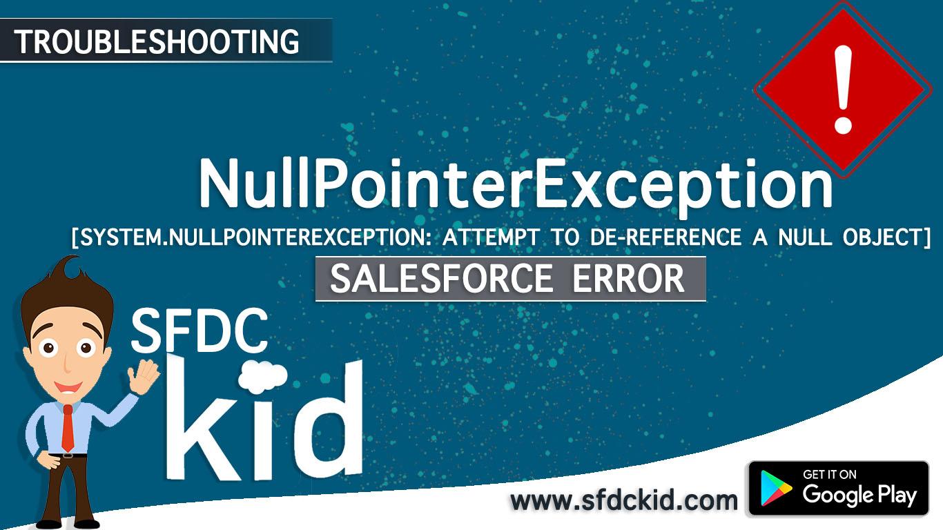 Null Pointer Error