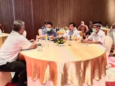 Chrisna Putra Hadiri Rapat Konsultasi Askompsi Dan Musyawarah Nasional Luar Biasa