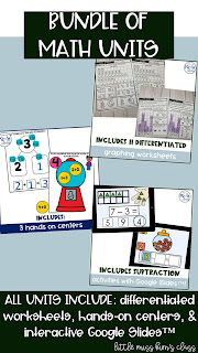 Bundle of Math Units for Special Education