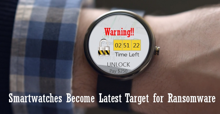 Ransomware Attacks Threaten Wearable Devices and Internet of Things