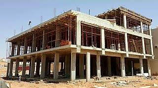 خطوات البناء السليم لمنزلك مرحلة العظم