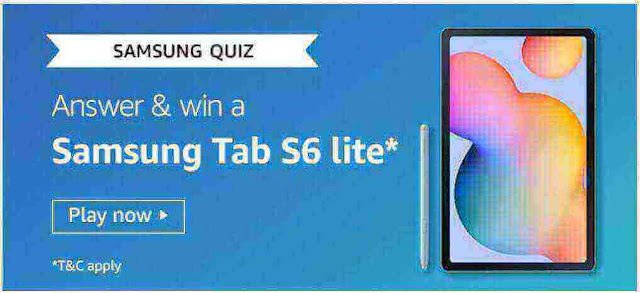 Amazon Samsung Galaxy Quiz Answers