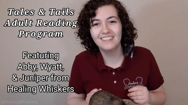 Abby, Wyatt, and Juniper the rat help with a summer reading program