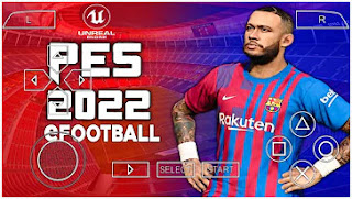 Download eFootball PES 2022 PPSSPP Unreal Engine New Graphics Real HD Face & Latest Transfer