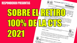 RETIRO CTS 2021