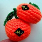 patron gratis mandarina amigurumi | free amigurumi pattern mandarin