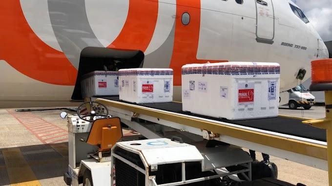 Paraíba recebeu mais de 56 mil novas doses de vacina contra a covid-19