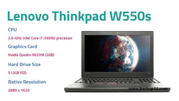 مراجعة لاب توب Lenovo Thinkpad W550s
