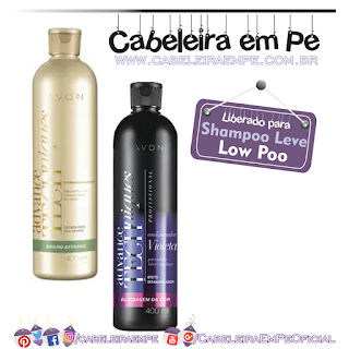 Condicionadores Brilho Extremo e Blindagem da Cor Advance Techniques - Avon (Low Poo)