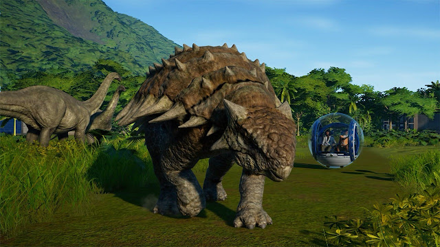 Jurassic World Evolution PC Game For Free
