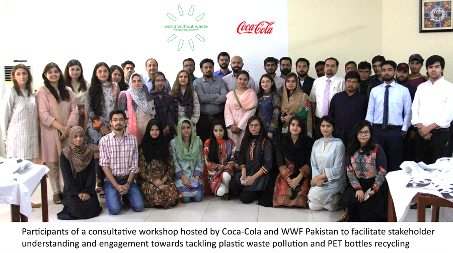 WWF-Pakistan and The Coca-Cola Foundation launch cooperation for plastic waste management