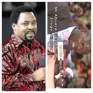 TB Joshua Heals Man From 36-Years (Thirty-Six) Of Bed Wetting [Video]