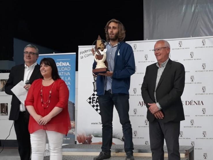Jaime Valmaña campeón de la Comunidad Valenciana 2019. Víctor García campeón veterano, Viviana Galván campeona, Carlos Agulló +65... RELACIÓN DE PREMIADOS