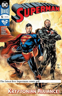 The latest free Superman comic pdf