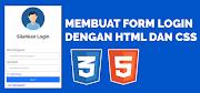 Membuat Form Login Sederhana Dengan HTML Dan CSS