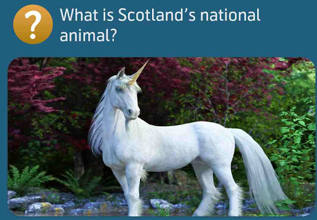 What is Scotland's national animal?