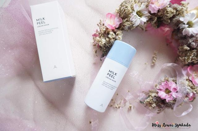 Beauty Review: Althea Milk Peel Cream Mask