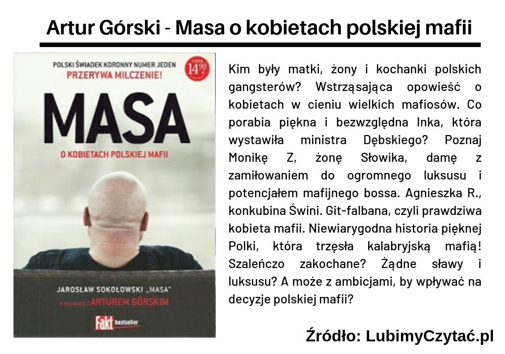 Artur Górski - O kobietach polskiej mafii, Cykl książkowy, Marzenie Literackie