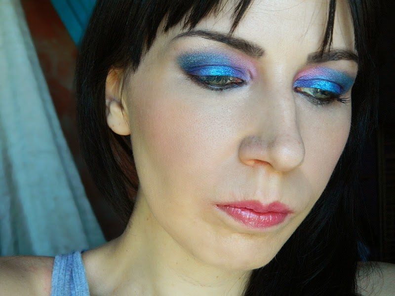 maquillage sirene mermaid makeup
