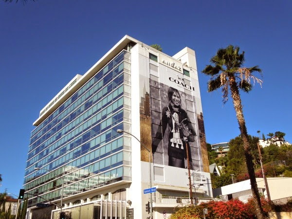 Giant Coach FW 2014 Rodeo Drive billboard