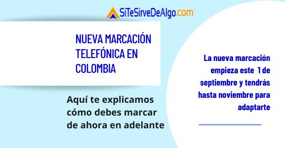 Nueva marcación telefónica en Colombia, estos son los cambios