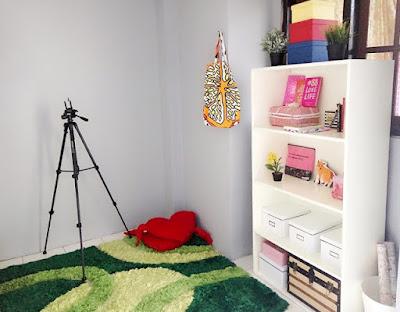 konsep ruang kerja ala blogger, Zata Ligouw