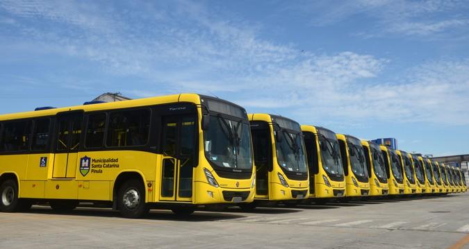 Volvo e Marcopolo exportam ônibus para novo sistema de transporte de passageiros na Guatemala