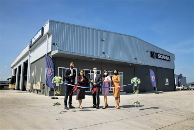 Scania Siam opened Saraburi service center to support sustainability solution business growth.
