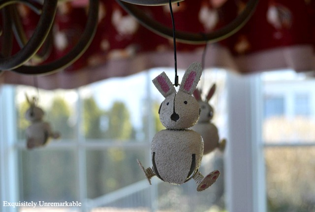Jingle Bell Bunny Ornament