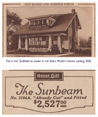 Sears Sunbeam shown in 1925 Sears catalog