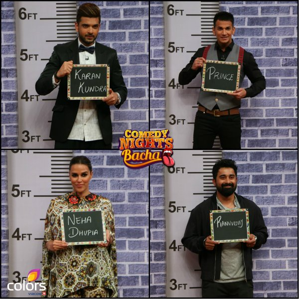 Roadies judges on comedy nights bachao.