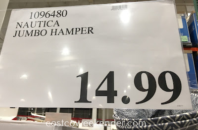 Deal for the Nautica Jumbo Hamper at Costco
